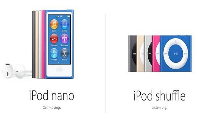 iPod Nano y iPod Shufle no podrán sincronizar las pistas de Apple Music sin conexión