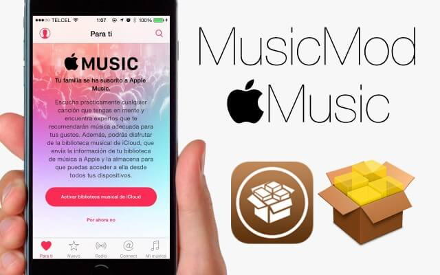 MusicMod: Perfecciona la aplicacion de Apple Music