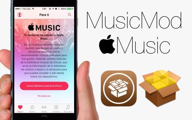 MusicMod: Perfecciona la aplicacion de Apple Music