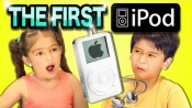 Reaccion de niños al ver el iPod Original