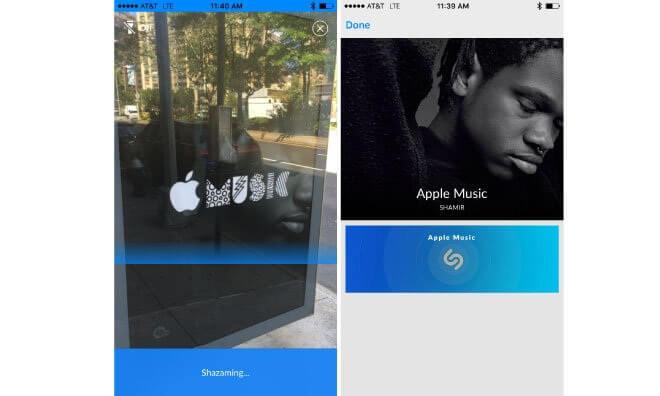 Apple Music se junta con Shazam en una nueva campaña publicitaria