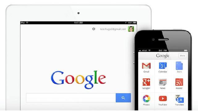 Google para IOS actualizado