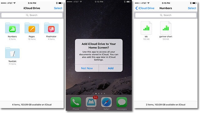La nueva versión beta de iOS 9 trajo consigo iCloud Drive - copia
