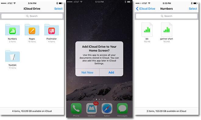 La nueva versión beta de iOS 9 trajo consigo iCloud Drive