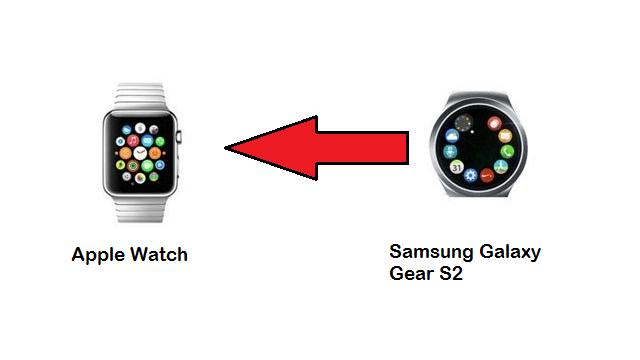 Parece ser que el nuevo SmartWatch de Samsung tiene gran influencia del Apple Watch de Apple