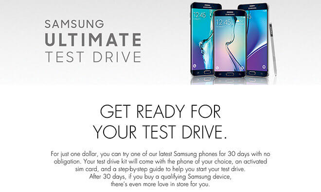 Prueba 30 días gratis un Samsung si eres usuario iPhone