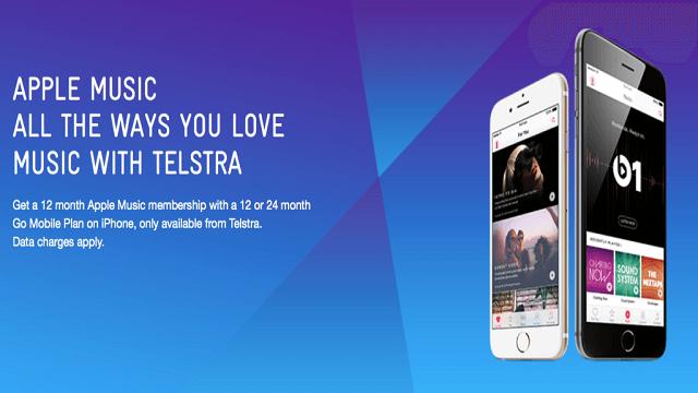 Telstra regala un año gratuito de Apple Music