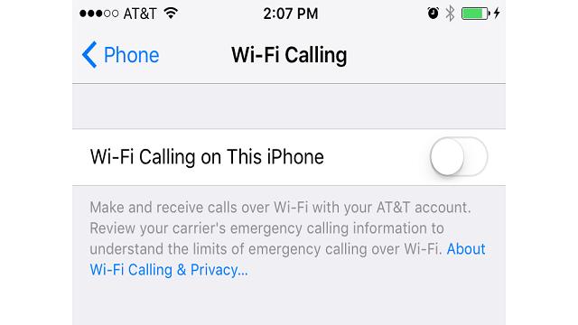 WiFi iOS 9