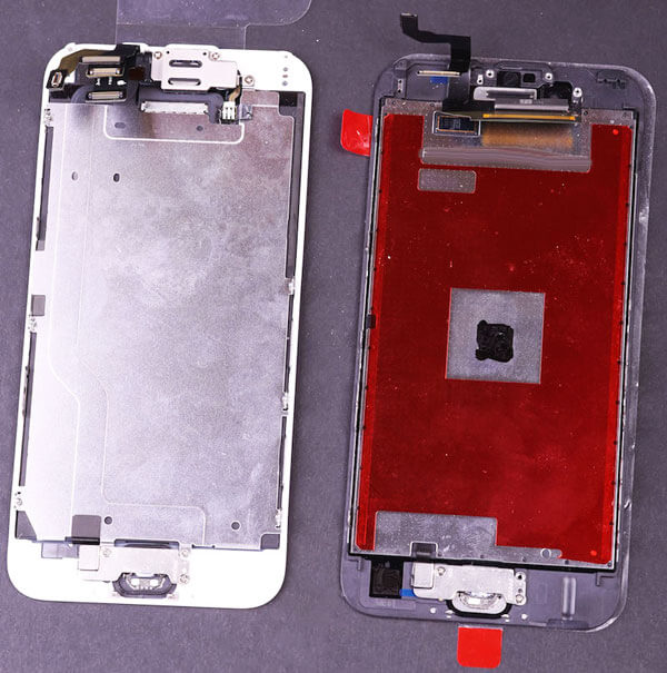 La pantalla del iPhone 6S frente al nuevo panel del iPhone 6S