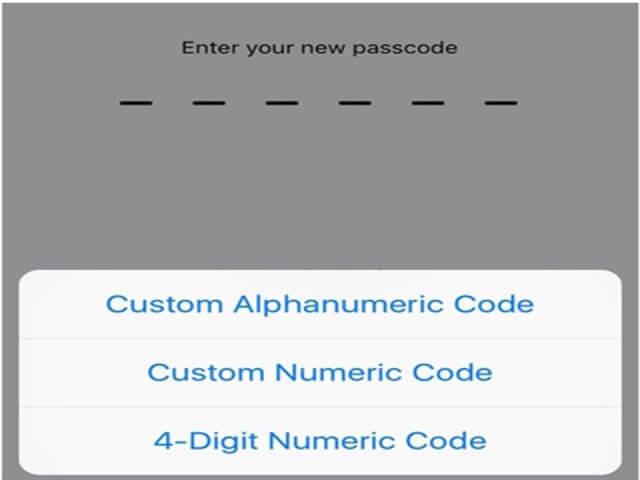 1. Código de acceso de seguridad