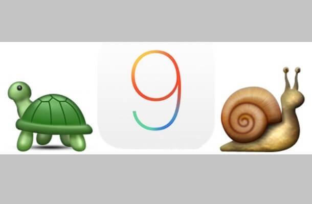 3 consejos para cambiar el rendimiento lento y atrasado de iOS 9 - copia