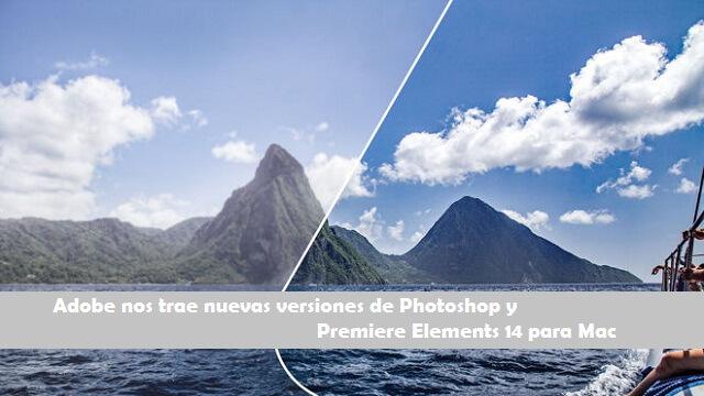 Adobe Photoshop y Elements 14 para Mac