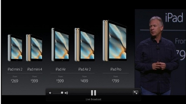 Apple actualiza los precios en su serie de iPads