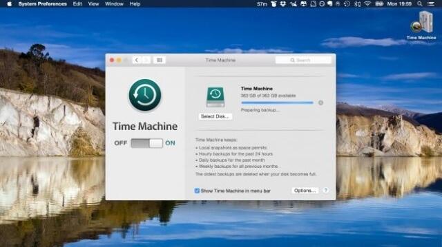 Realiza una copia de seguridad de tu Mac