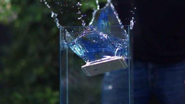 Resistencia al agua del iPhone 6S
