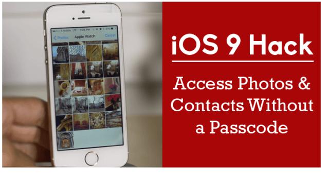 Es posible Hackear iOS 9