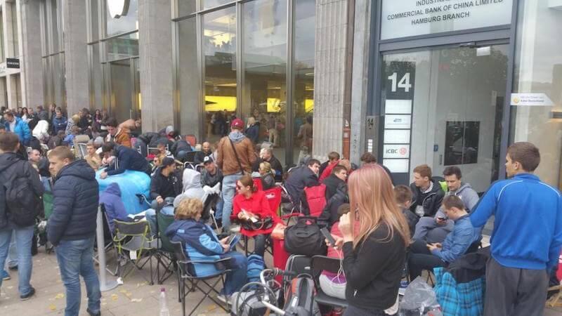 Apple Store de Hamburgo- Alemania