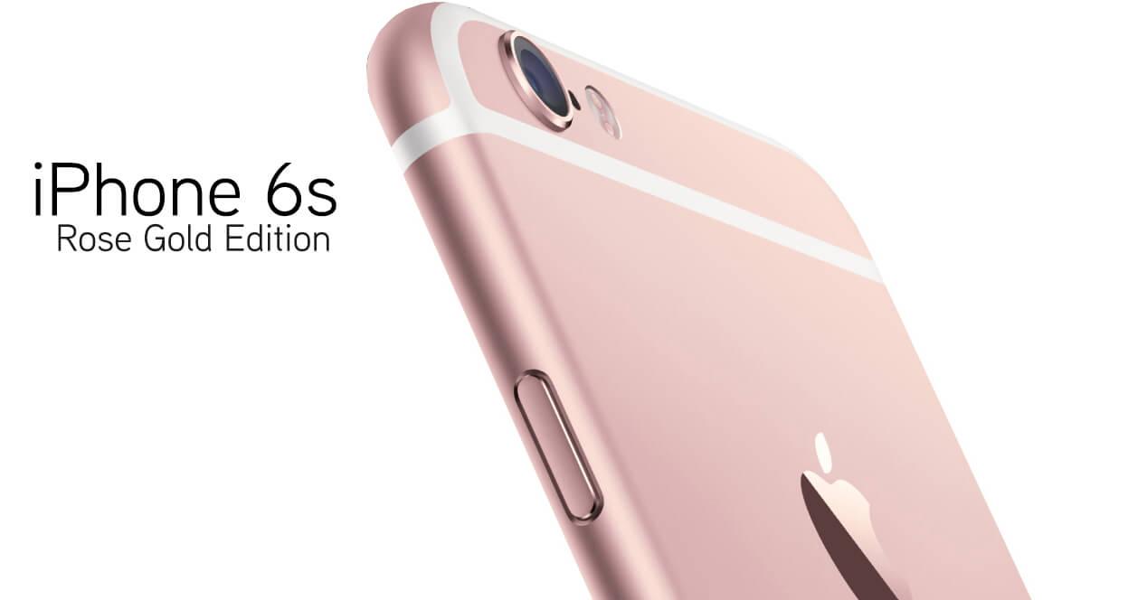 El iPhone 6S / 6S Plus Oro Rosado es la primera de opción de algunos consumidores