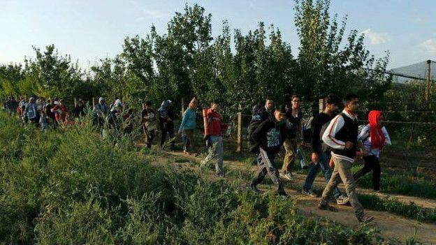 Miles de personas han migrado desde Siria