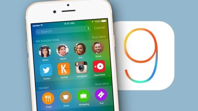 Nuevo iOS 9
