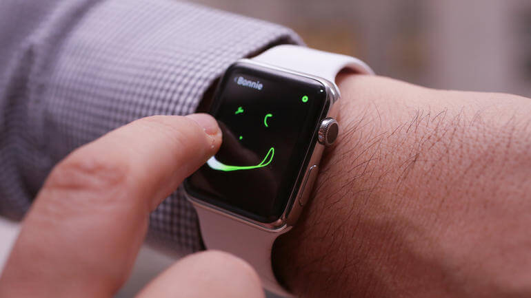 Se puede personalizar rápidamente los colores del Touch Digital en su Apple Watch - copia
