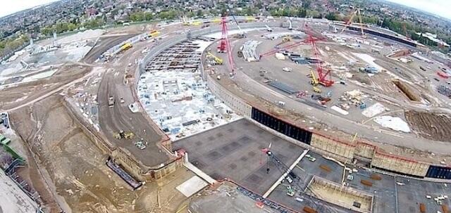 Un vistazo impresionante en la escala del proyecto