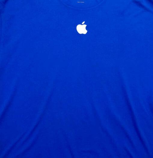 Camiseta Actual de los trabajadores de la Apple Store.