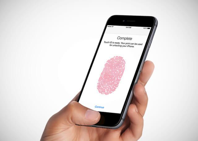 estamos hablando de la función Touch ID