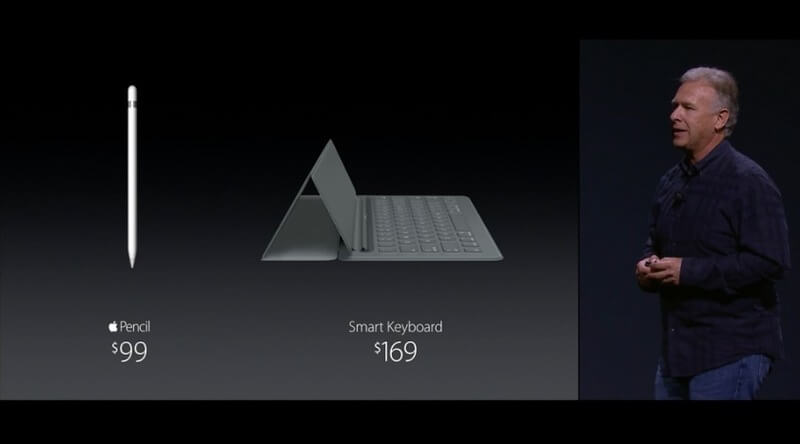 Nuevos Accesorios para el iPad Pro: Apple Pencil - Smart Keyboard