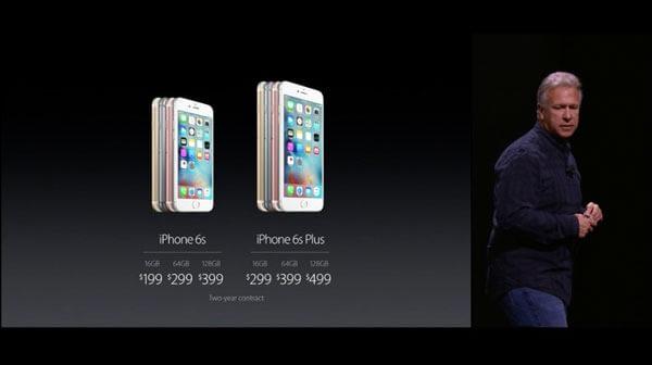 Precios de los nuevos iPhone 6S - iPhone 6S Plus / Colores y Capacidades