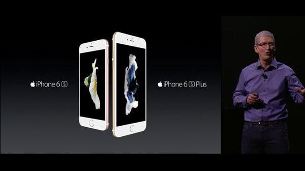 Apple presentó iPhone 6S & iPhone 6S Plus