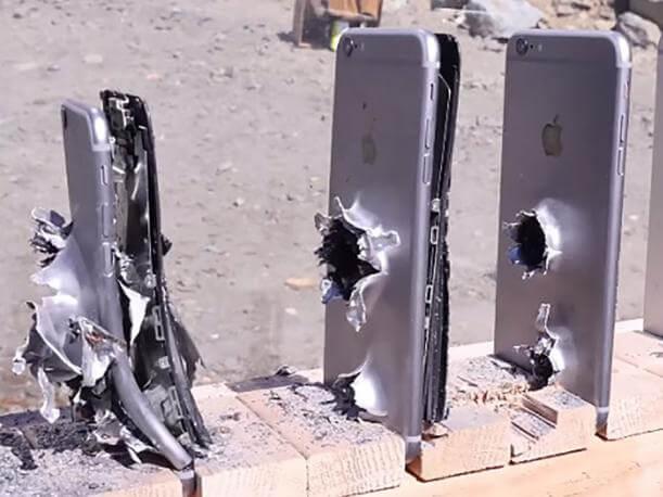 Anteriormente se había realizado la misma prueba, sólo que con un grupo de iPhone 5S