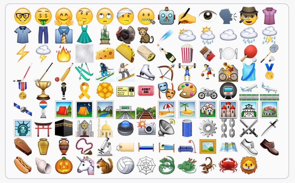 150 nuevos emojis trae el iOS 9.1