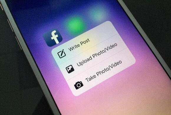Actualización de Facebook para los nuevos iPhone 6s y 6s Plus