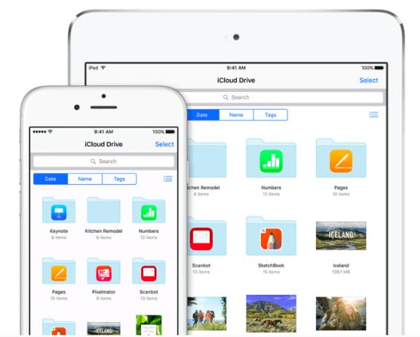 Además puedes utilizar iCloud Drive en cualquier dispositivo para ver imágenes