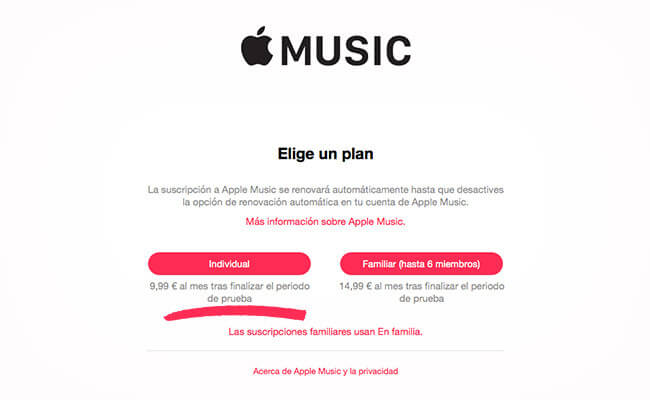Apple Music será pago en pocos días
