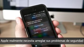 Apple realmente necesita arreglar sus problemas de seguridad