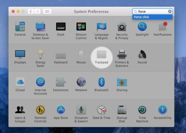 Cómo buscar la opción 'Preferencias del sistema' en la configuración de tu Mac OS X
