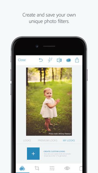 Crea y guarda tus propios filtros para fotos