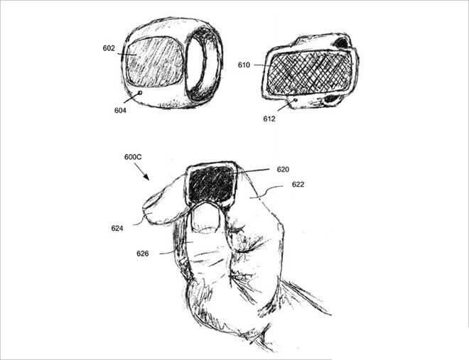 El nuevo dispositivo portátil de Apple podría ser un anillo