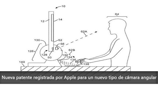 Nueva patente registrada por Apple para un nuevo tipo de cámara angular