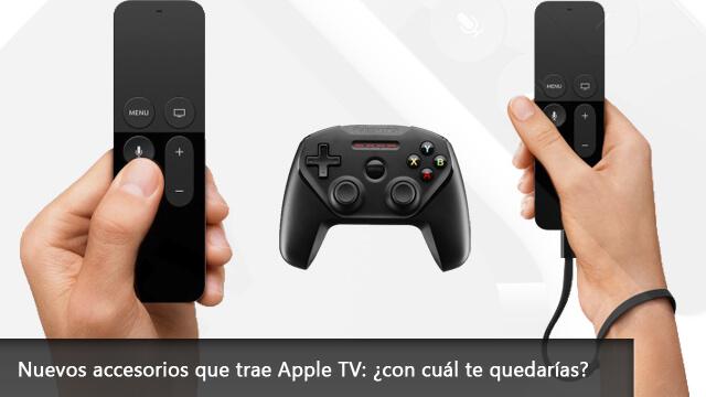 Nuevos accesorios que trae Apple TV con cuál te quedarías