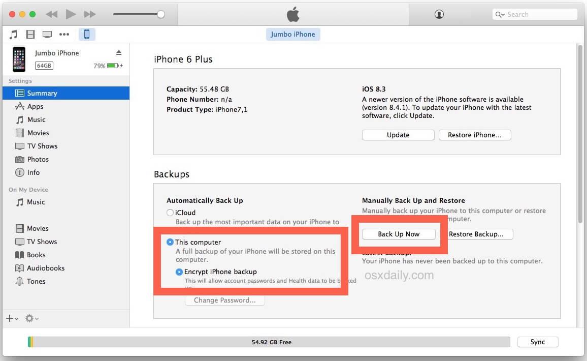 Pero como preferencia le explicaremos por hacer la copia con iTunes, por ser la más utilizada y más rápida