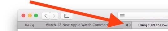 Silenciar alguna ficha individual de audio en Safari desde tu Mac