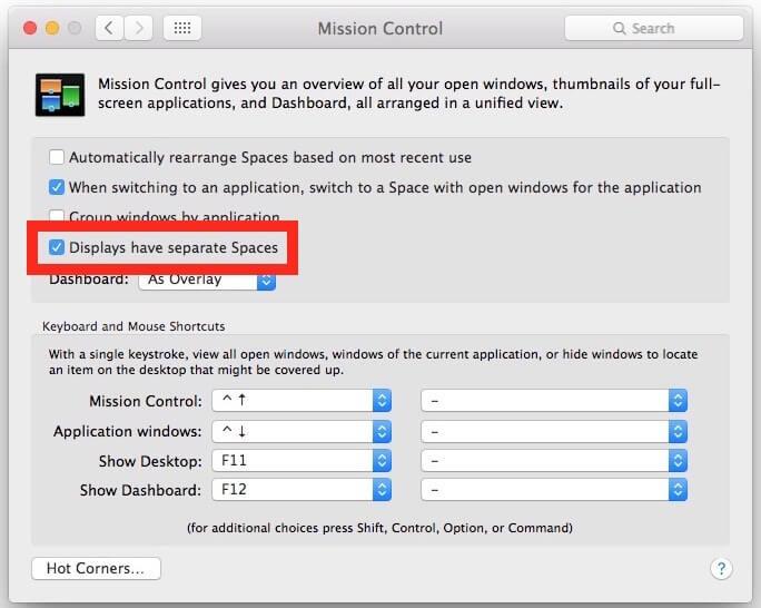 Pasos para poder activar vista dividida o split view en OS X El Capitan