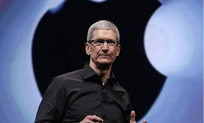 el CEO de Apple Tim Cook