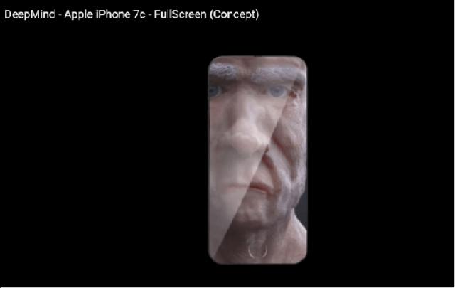 lo cual nos da la posibilidad de ampliar las fotos mas allá de los limites convencionales de la pantalla hasta llegar a los borden del dispositivo