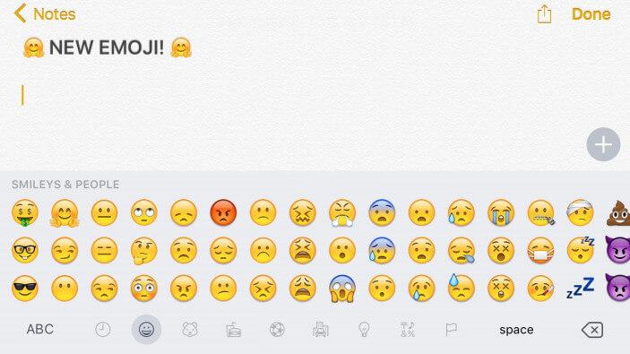 iOS 9.1 en su quinta beta, nos trae unos nuevos emojis