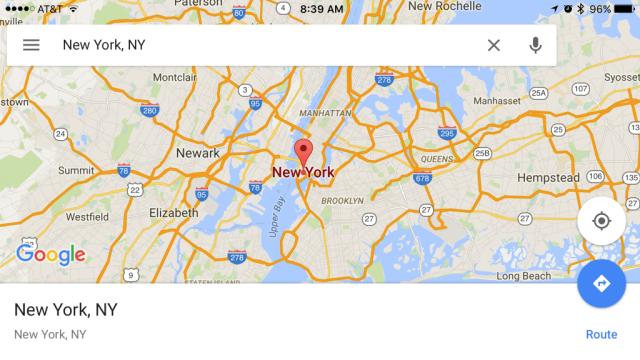 Actualización de Google Maps trae nuevas características para la navegación sin datos