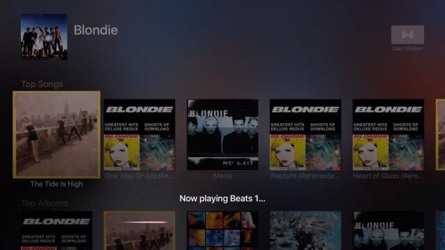 Ahora Siri tiene soporte en el Apple Music para el Apple TV